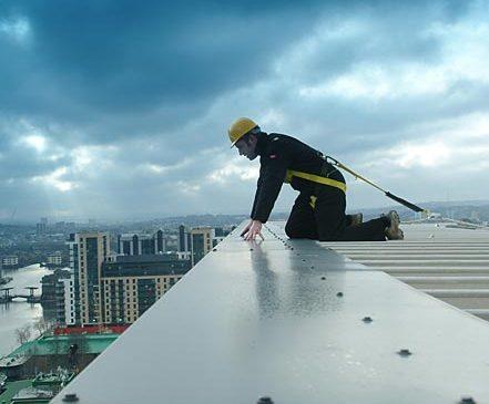 Kırılabilir Kısımları Olan Çatılarda Çalışma